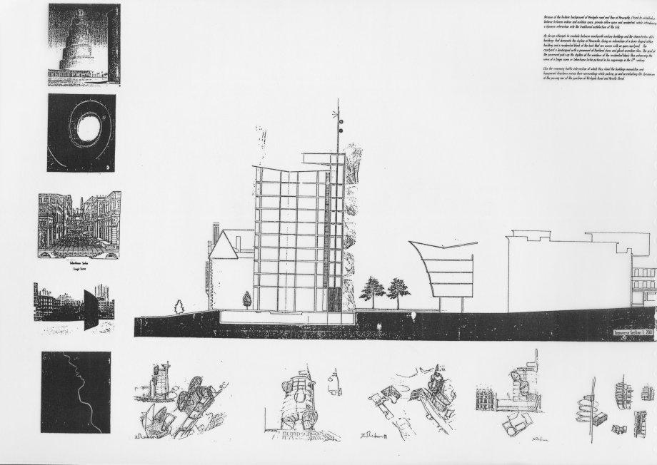 Mimari Eğitim Sürecindeki Çizimleri