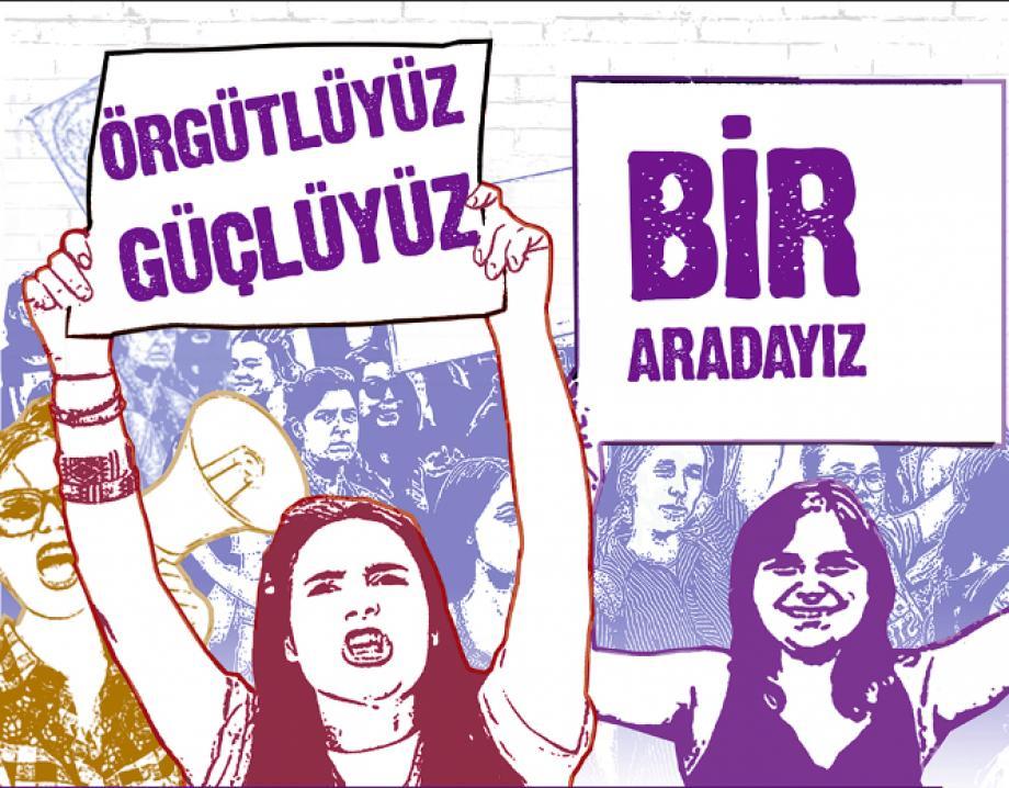 8 Mart Dünya Emekçi Kadınlar Günü Afişlerimiz