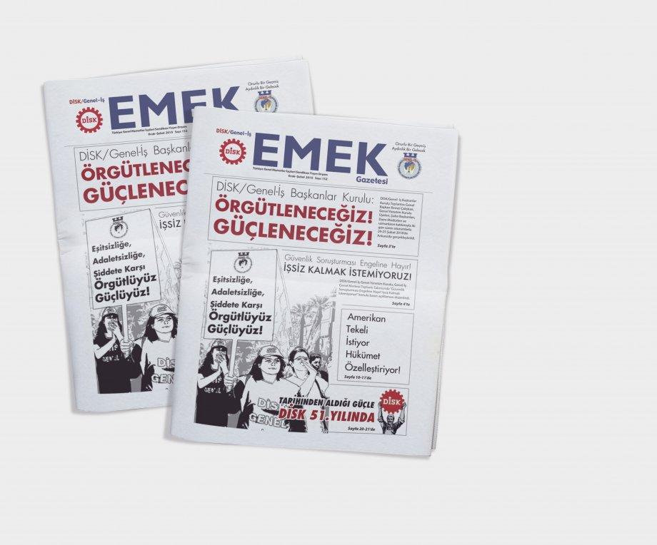 EMEK Gazetesi'nin 152. Sayısı Çıktı