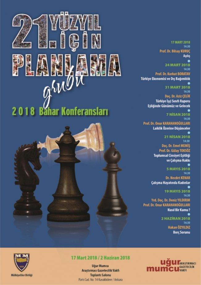 21. Yüzyıl İçin Planlama Konferansları Programı