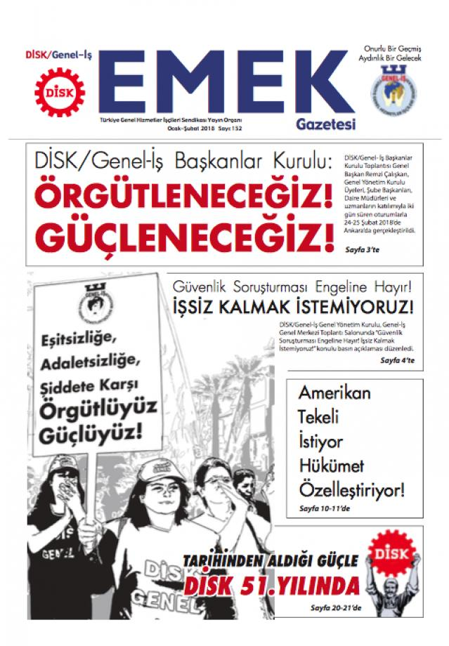 Emek Gazetesi 152.Sayı