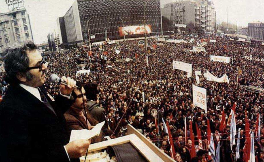 İşçi Sınıfının Unutulmaz Önderi Kemal Türkler Mücadelemizde Yaşıyor
