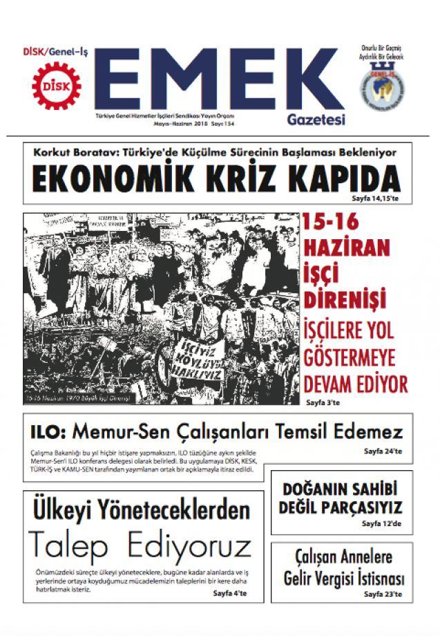 EMEK Gazetesi 154. Sayı