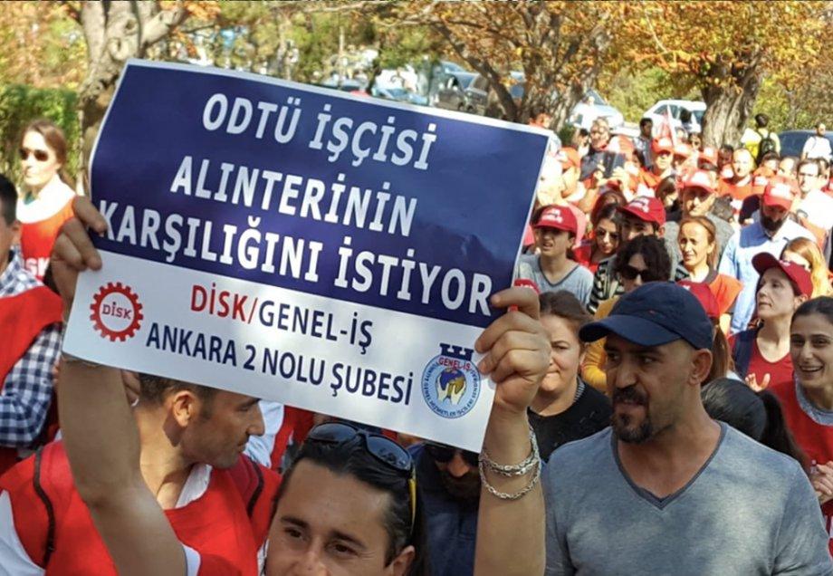 ODTÜ'den Seslendik: Özgür Toplu Sözleşme Hakkı İstiyoruz