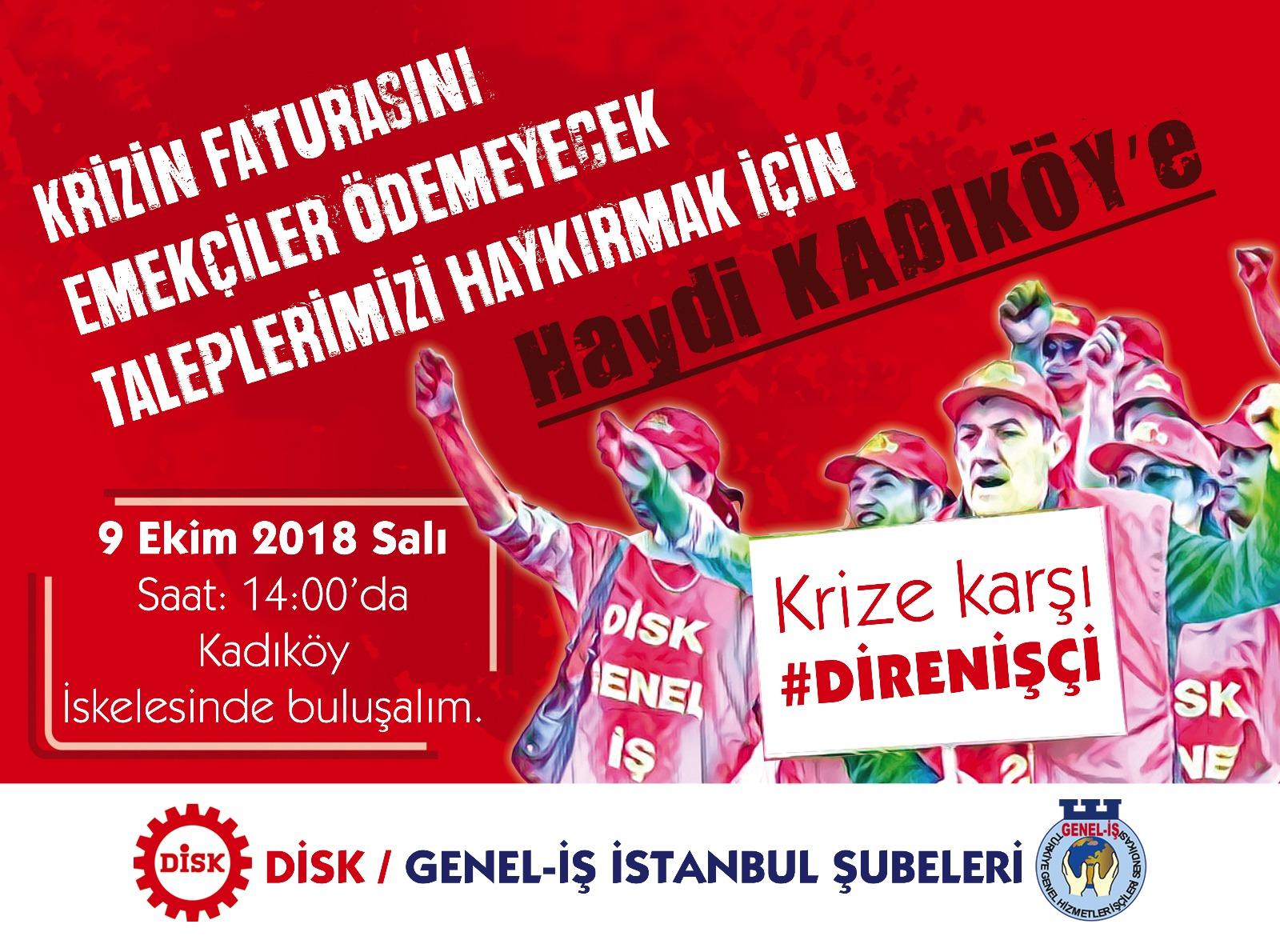 İstanbul'da da Eylemdeyiz!