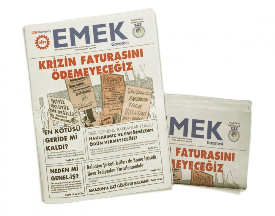 EMEK Gazetesi'nin 156. Sayısı Çıktı