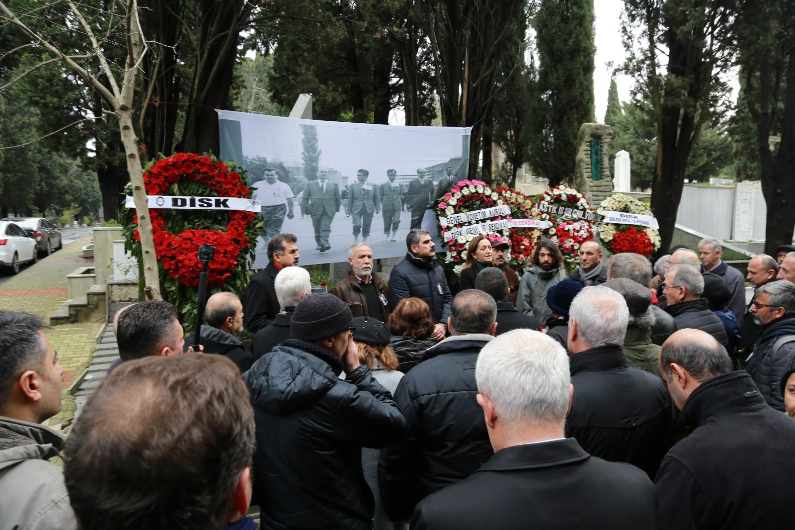 Kurucu Genel Başkanımız Abdullah Baştürk'ü Andık