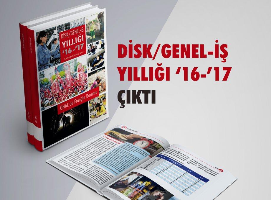 DİSK/Genel-İş Yıllığı '16-'17 Çıktı!