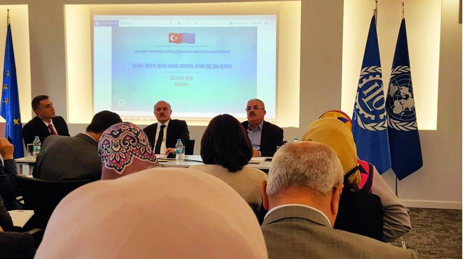 ILO Türkiye Ofisi Tarafından Düzenlenen Çalıştaya Katıldık