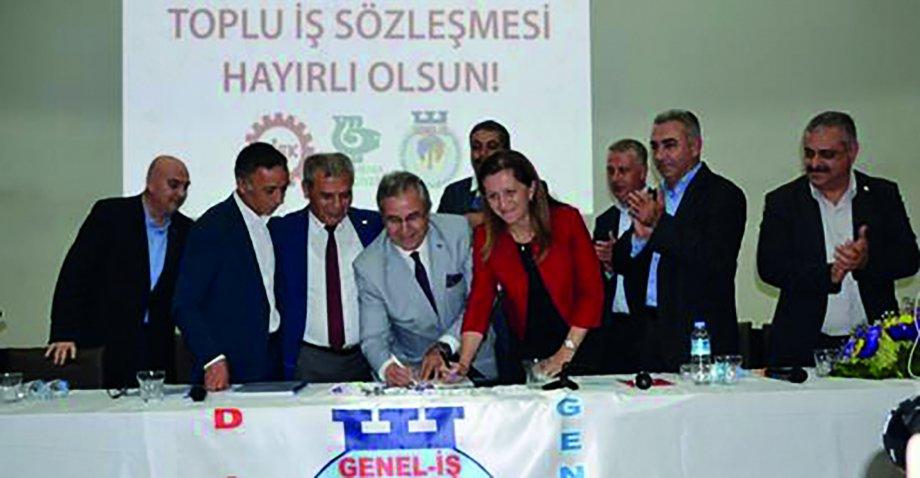 Bandırma Belediyesi'nde Toplu İş Sözleşmesi İmzaladık