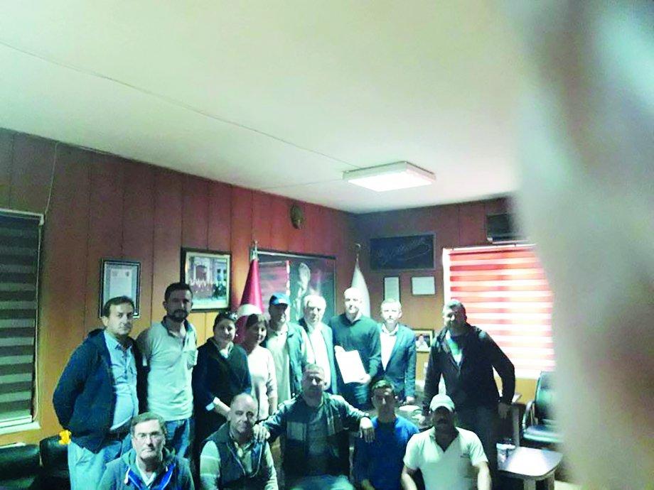 Bekili Belediyesi ile  Toplu İş Sözleşmesi İmzaladık