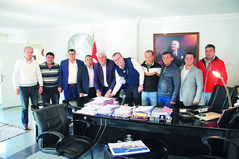Çeşme Belediyesi'nde Toplu İş Sözleşmesi İmzaladık