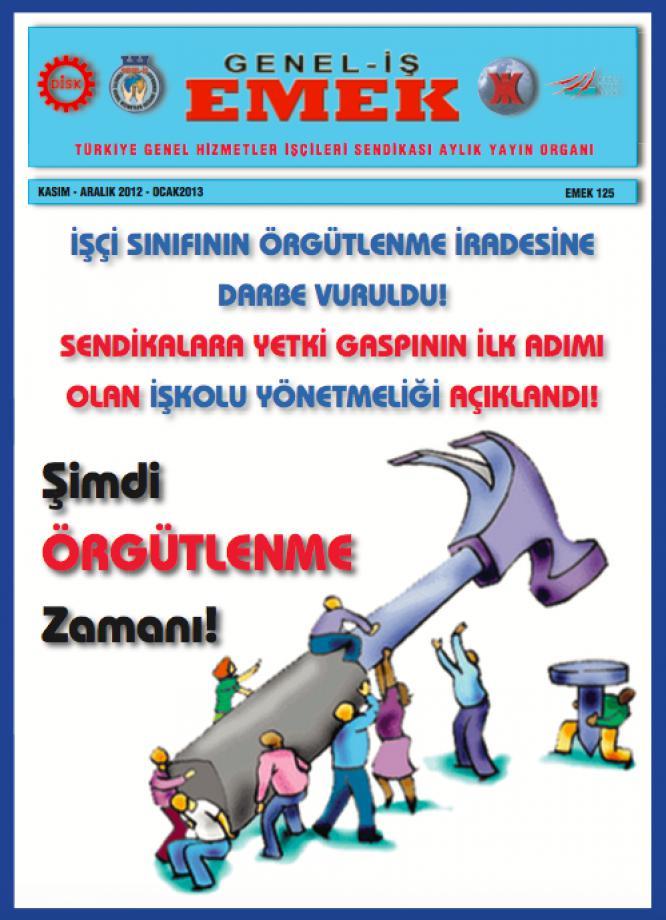 Emek Gazetesi 125. Sayı