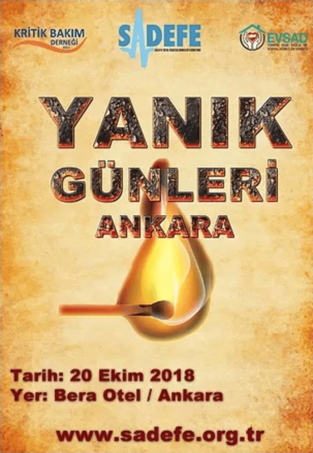 Yanık Sempozyumu, Ankara / 20.10.2018