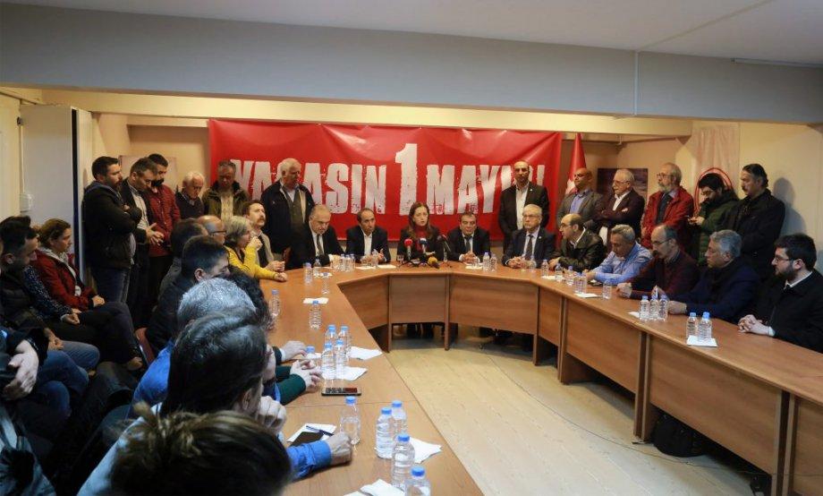 DİSK-KESK-TMMOB-TTB'den Ortak 1 Mayıs Açıklaması