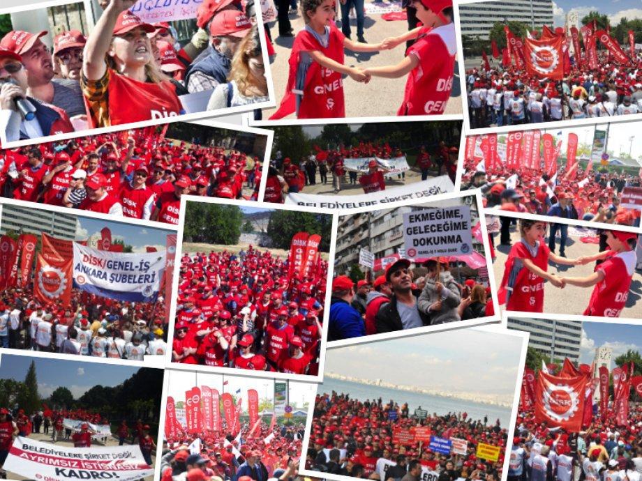İşçinin Sendika Seçme Özgürlüğüne Saygı Gösterin!