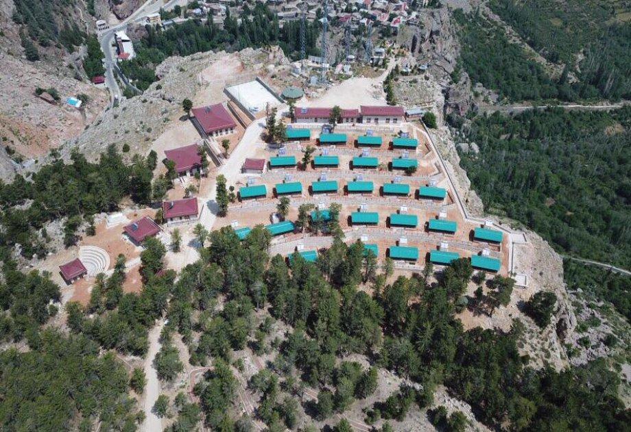 Gençlik ve Spor Bakanlığı Konya Taşkent Kıblekayası Gençlik Ve İzcilik Kampı Eğitim Merkezi Yapım İşi