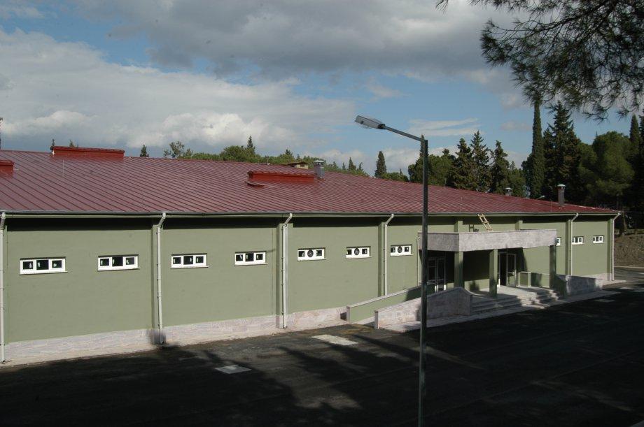 Manisa 1'inci P.Tug.K.Lığı 9000 Kişilik Servis Binası İnşaatı
