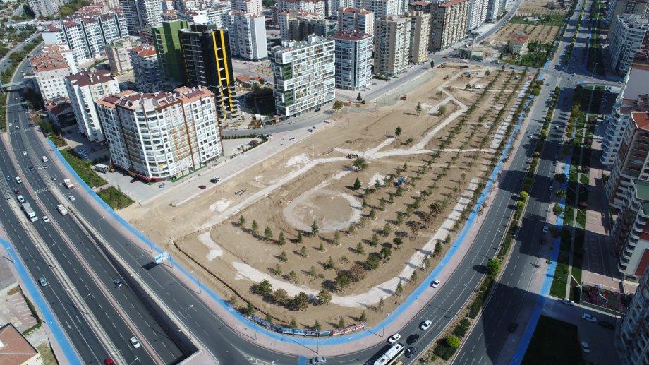 Konya Büyükşehir Belediyesi Başkanlığı  - Muhtelif İlçelerde Park Yapım İşi