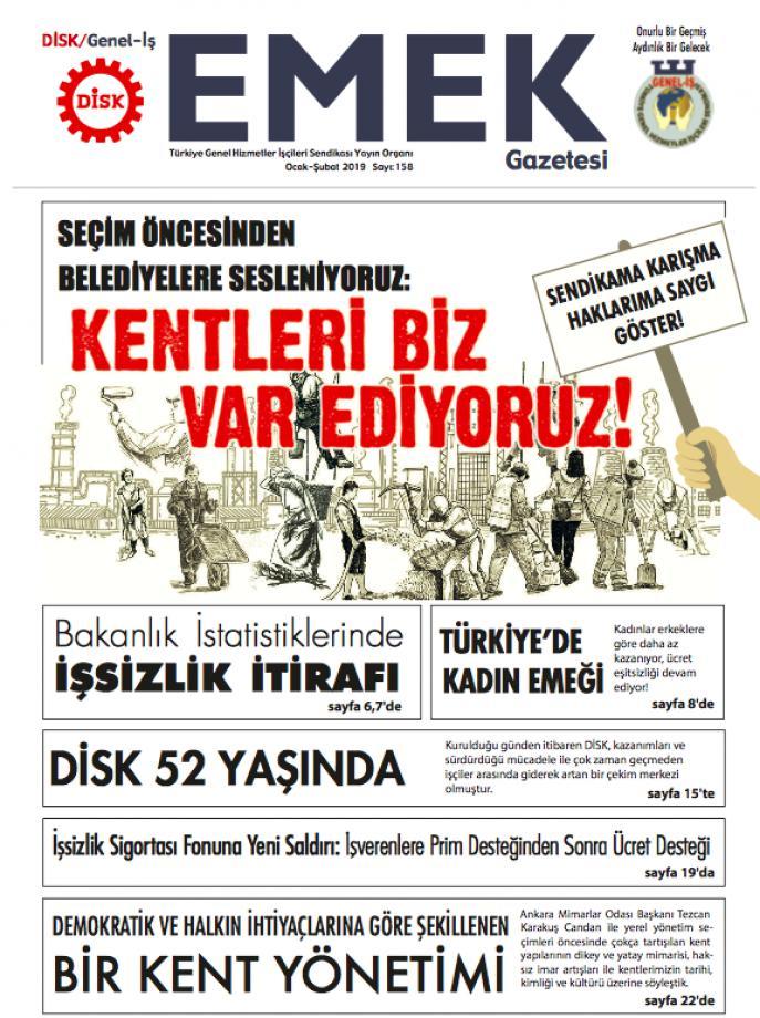 EMEK Gazetesi 158. Sayı