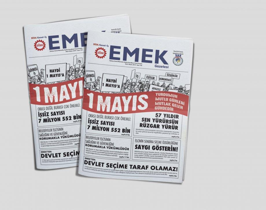 EMEK Gazetesi'nin 159. Sayısı Çıktı