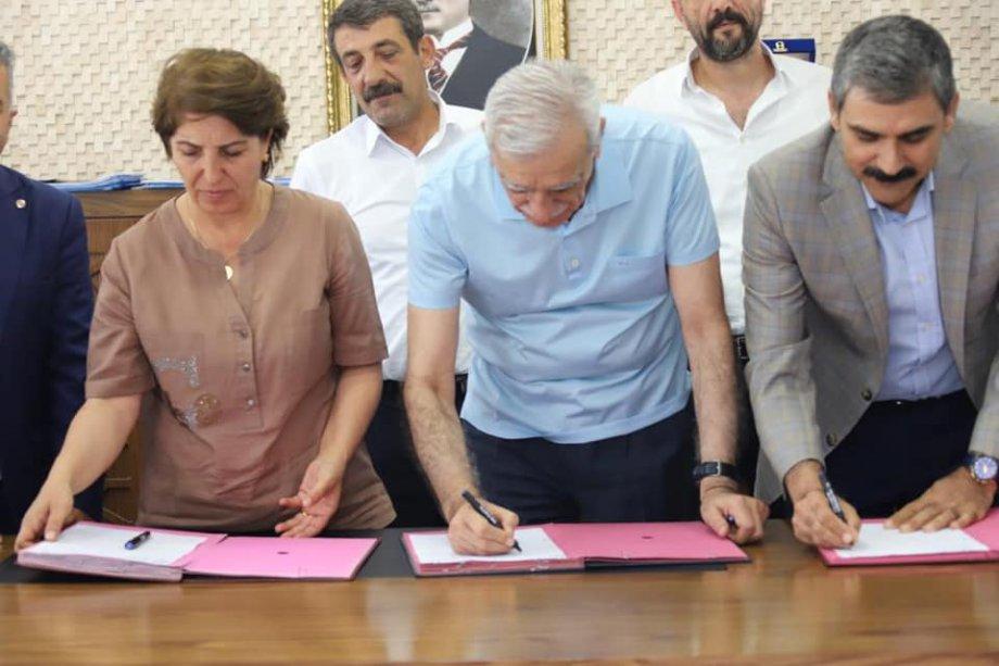 Mardin Büyükşehir Belediyesi ile Toplu İş Sözleşmesi İmzaladık