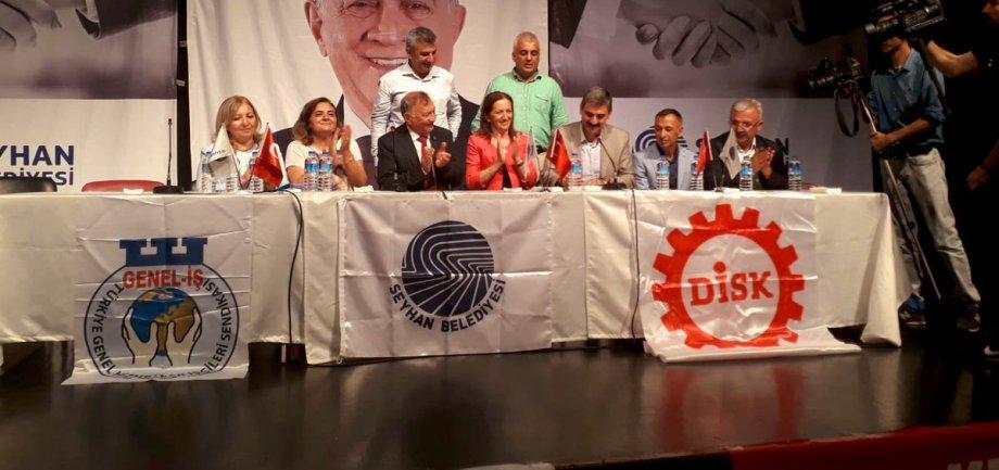 Seyhan Belediyesi'nde Toplu İş Sözleşmesi İmzaladık