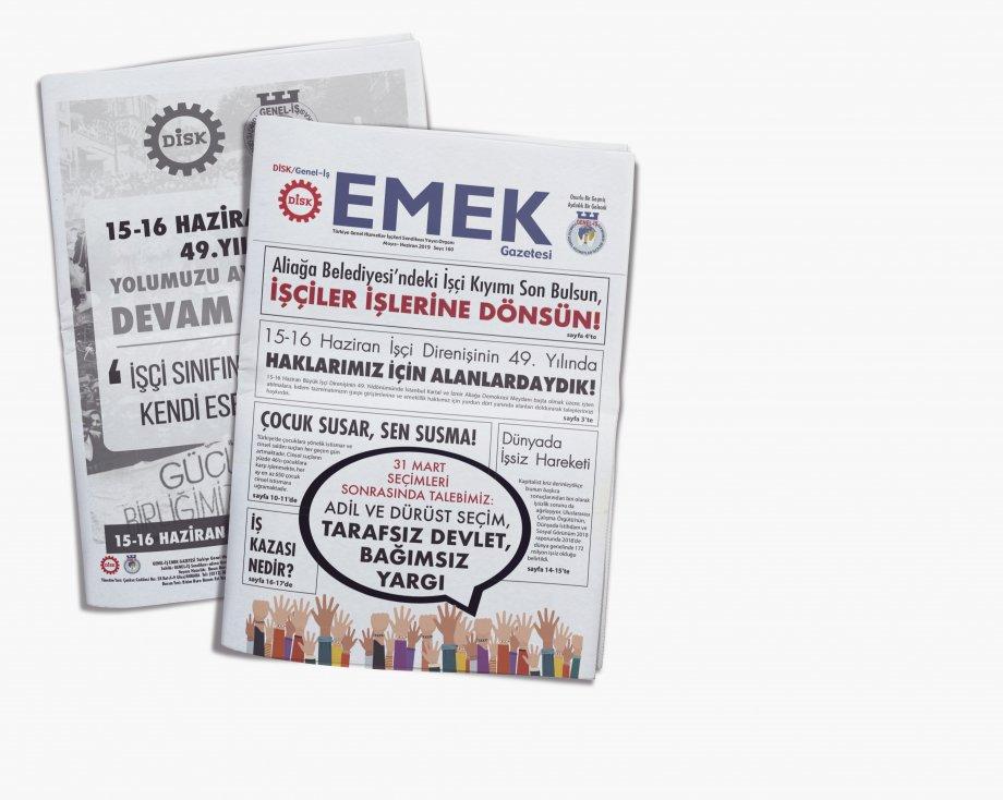 EMEK Gazetesi'nin 160. Sayısı Çıktı