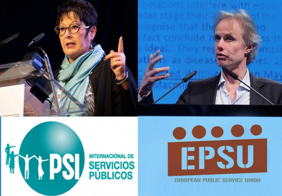 PSI ve EPSU'dan İşinden Edilen Aliağa Belediyesi İşçileri İçin Dayanışma Mesajı