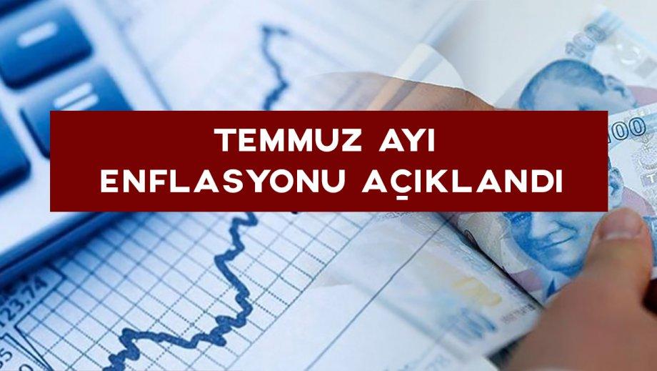 Temmuz Ayında Enflasyon % 16,65, Gıda Enflasyonu ise % 18,21 Oldu!