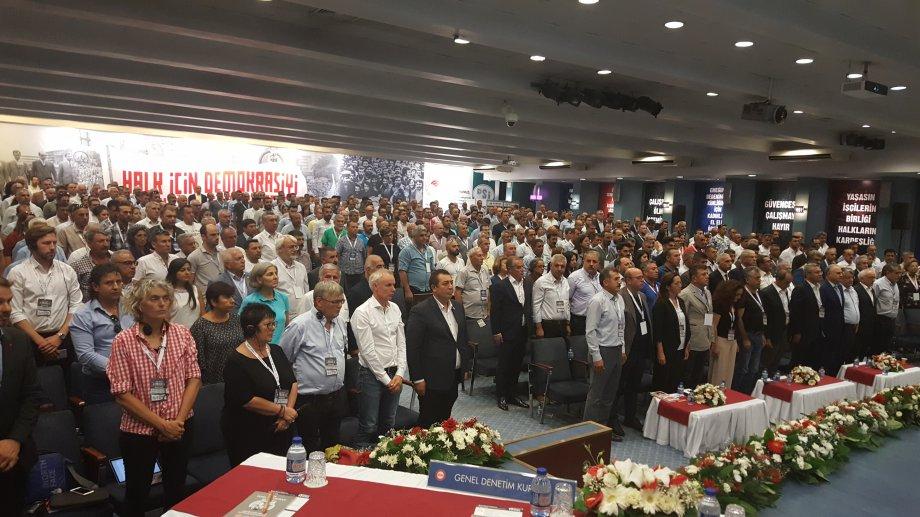 Genel Kurul Karar Verdi: Halk İçin Demokrasiyi Türkiye İşçi Sınıfı Kuracak