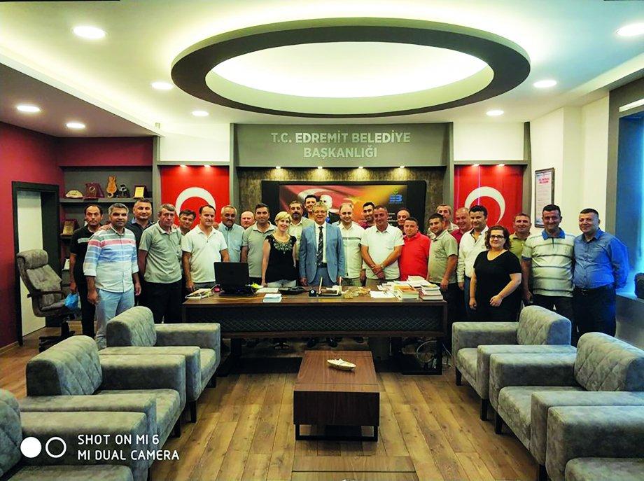 Edremit Belediyesi ile Toplu İş Sözleşmesi Sevinci