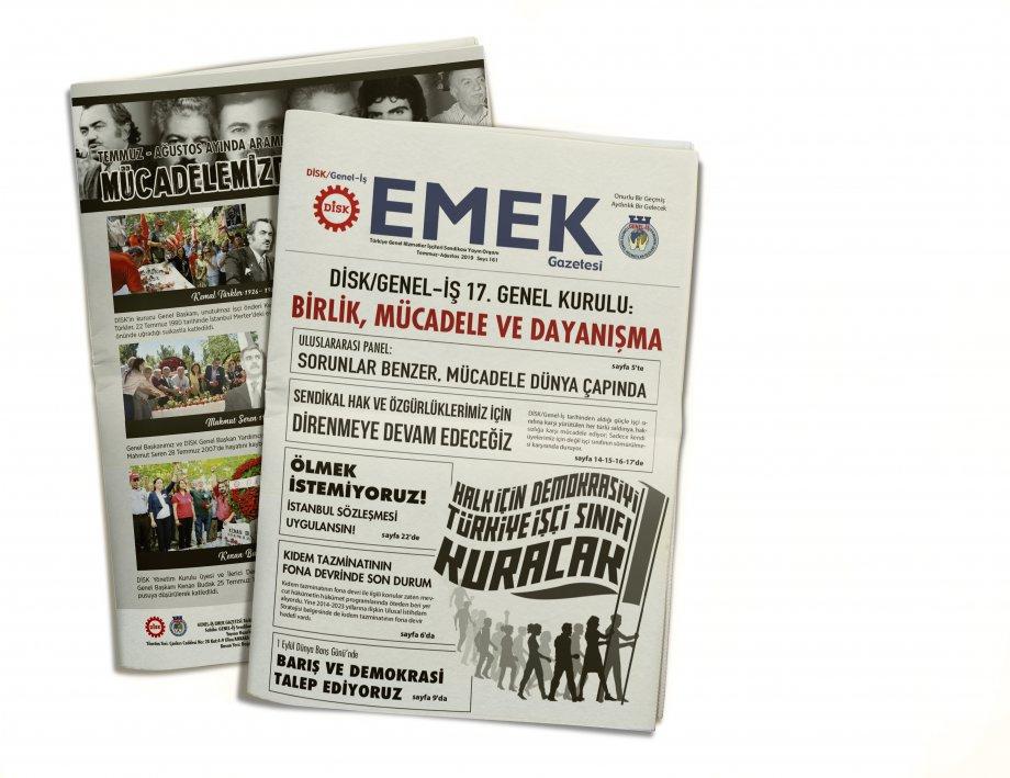 EMEK Gazetesi'nin 161. Sayısı Çıktı