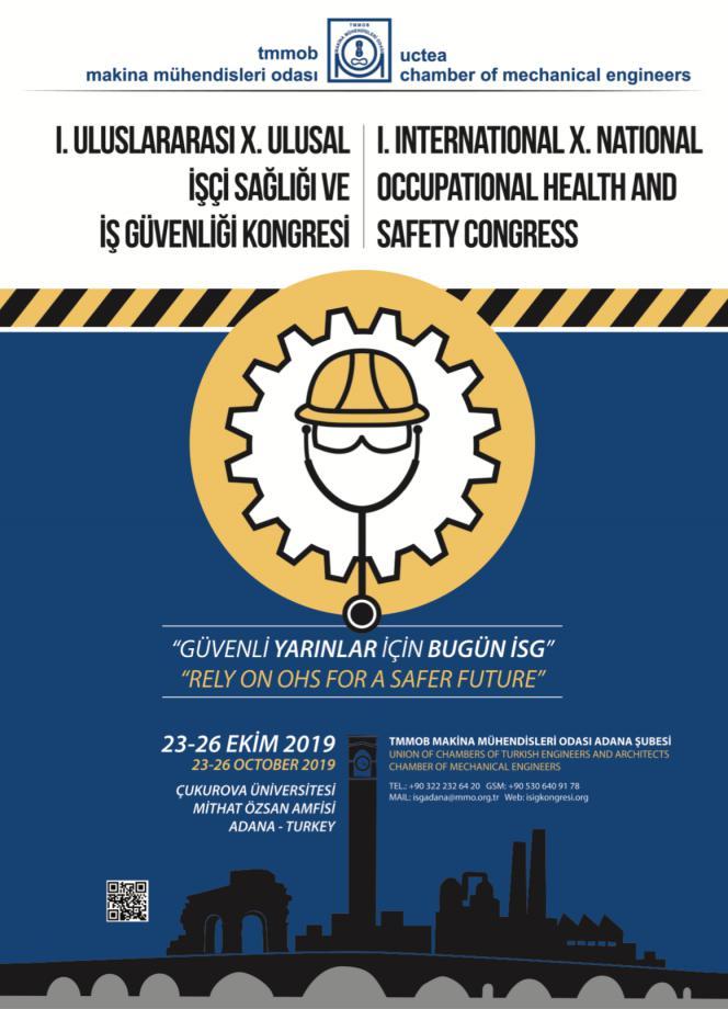 I. Uluslararası X. Ulusal İşçi Sağlığı ve İş Güvenliği Kongresi