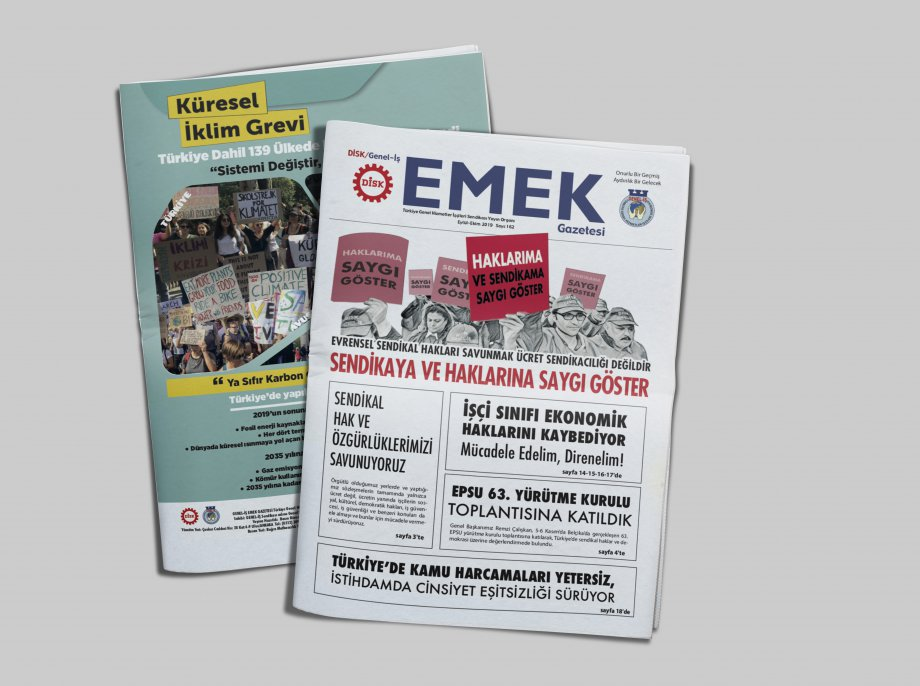 EMEK Gazetesi'nin 162. Sayısı Çıktı