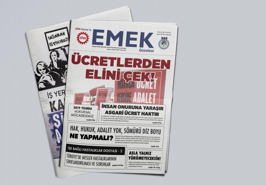EMEK Gazetesi'nin 163. Sayısı Çıktı