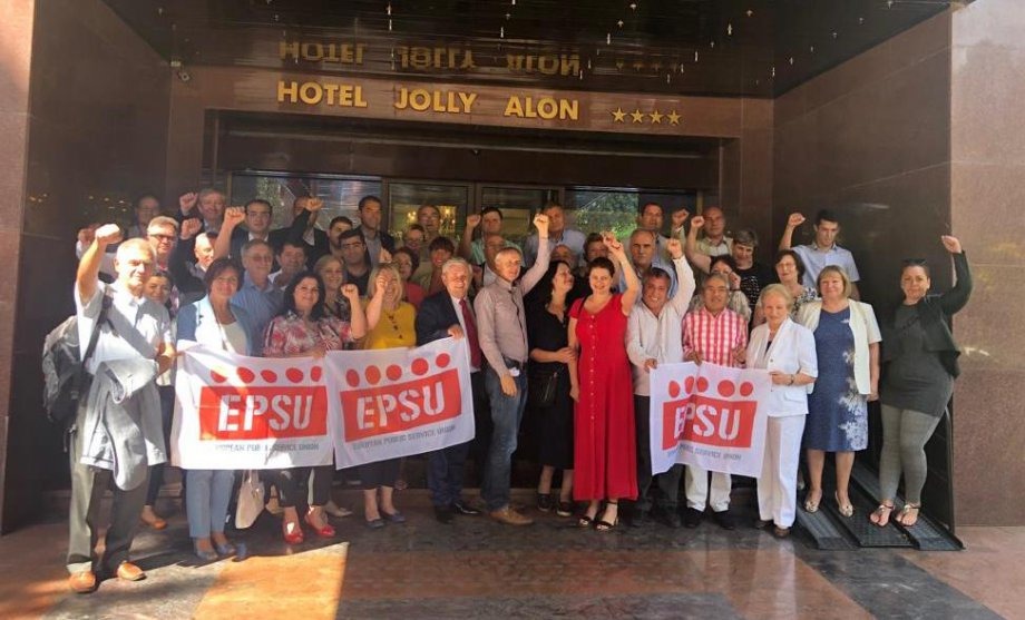 EPSU Bölge Toplantısı Moldova'da Yapıldı