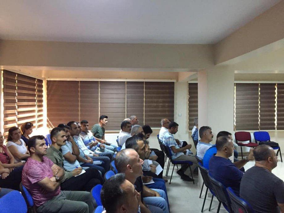 Kasım-Aralık 2019'da Şube Temsilciler Kurulu ve İşyeri Eğitimleri