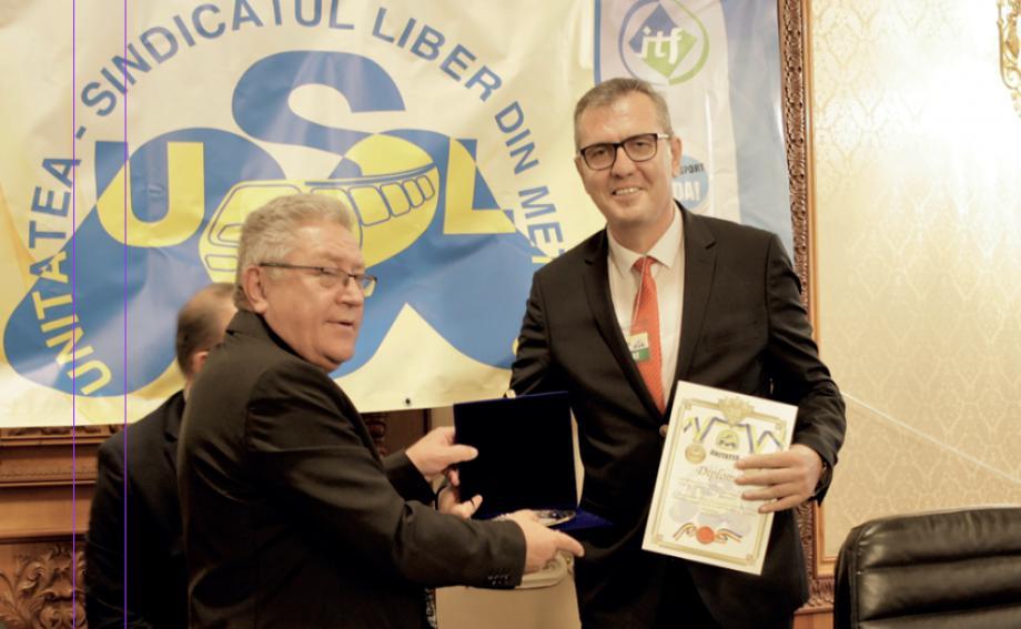 Romanya Metro İşçileri Sendikası'nın Genel Kurulu'na Katıldık