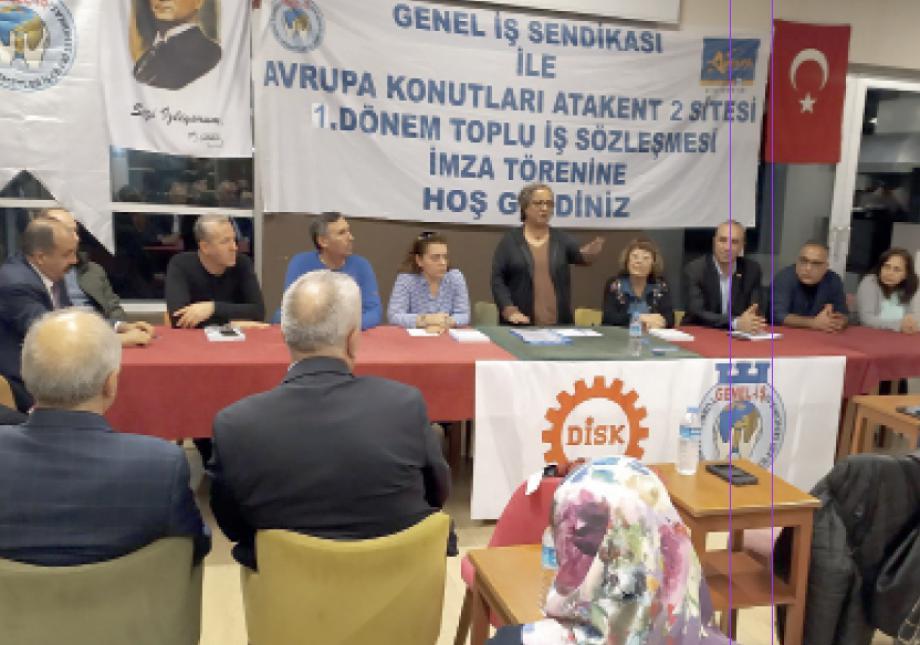 Avrupa Konutları Atakent 2 Sitesi Toplu İş Sözleşmesi