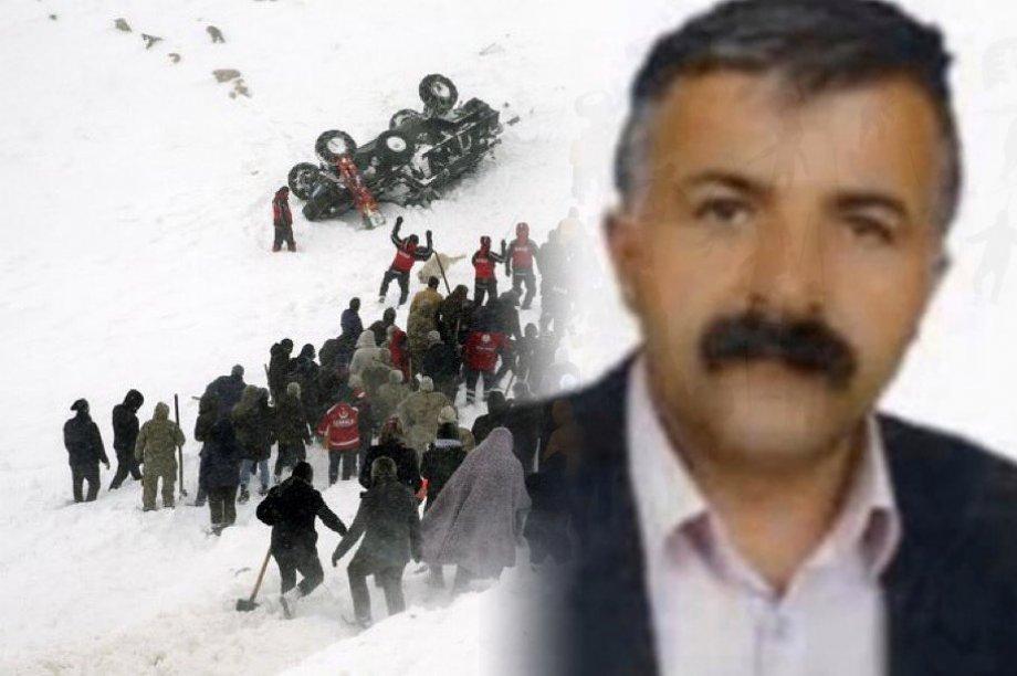 Van-Bahçesaray'da Üyemiz Emrullah Ersari'yi Kaybettik