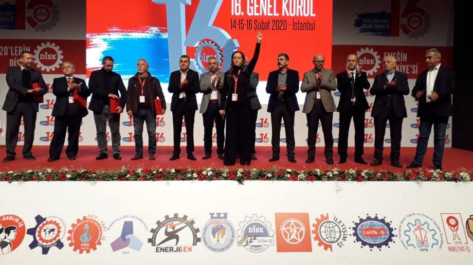 DİSK Genel Kurulu Sonuçlandı: Emeğin Türkiye'sini Kuracağız!