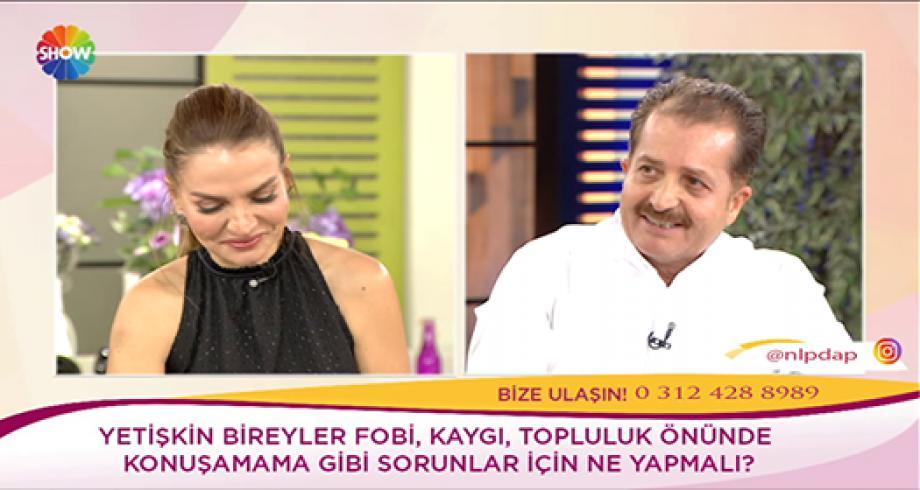 """NLP Lideri Mustafa KILINÇ 18.12.2019'da Show TV Ebru Akel """"Kendine İyi Bak"""" Programının Konuğuydu"""
