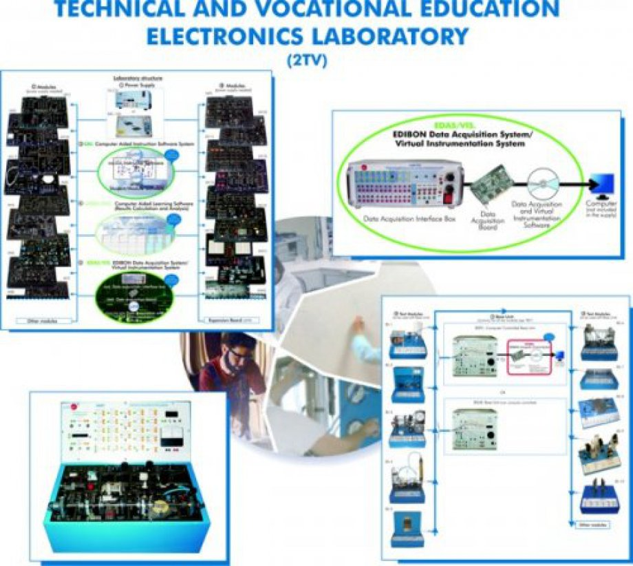 2TV Technical and Vocational Education Electronics Laboratory