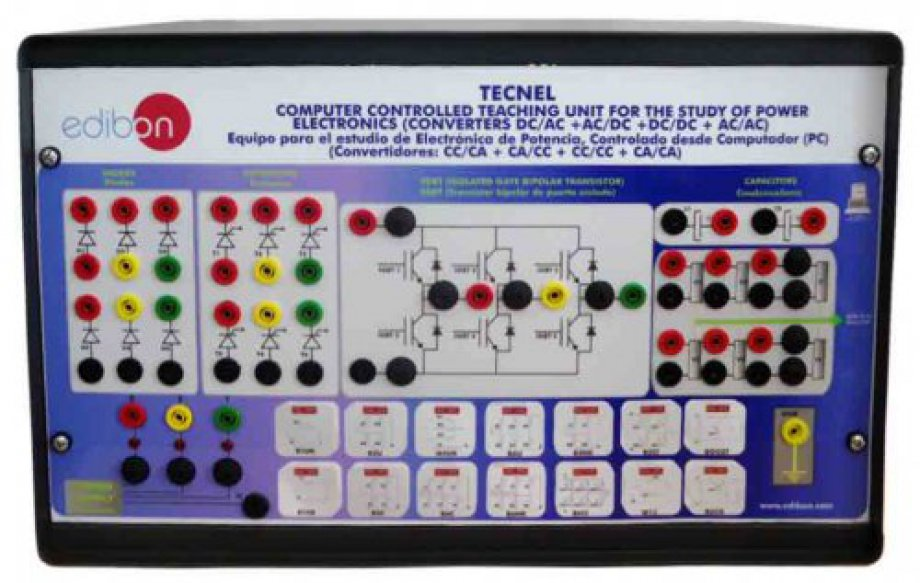TECNEL Computer Controlled Teaching Unit for the Study of Power Electronics