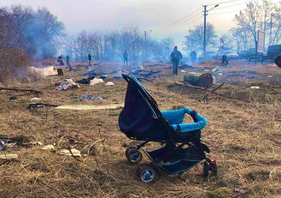 Sınırdaki İnsanlık Krizine Son Verin