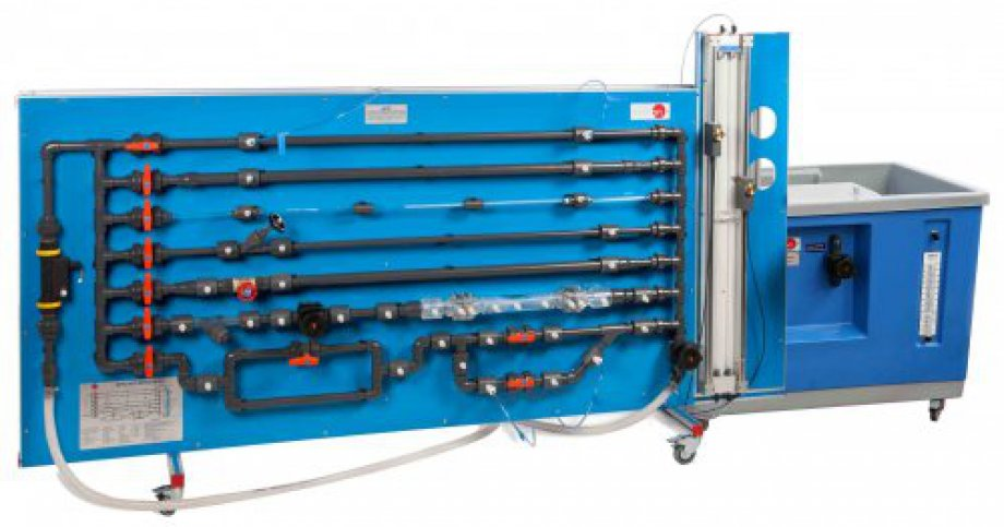 AFTC Computer Controlled Fluid Friction in Pipes, with Hydraulics Bench (FME00)
