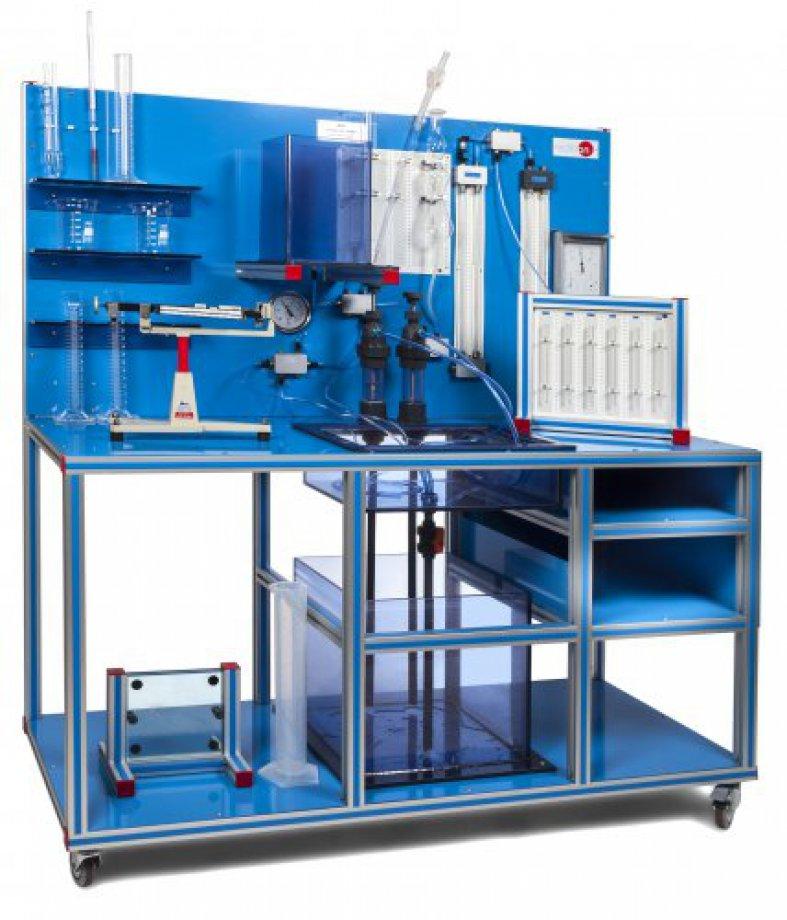 BHI Hydrostatics Bench & Fluid Properties