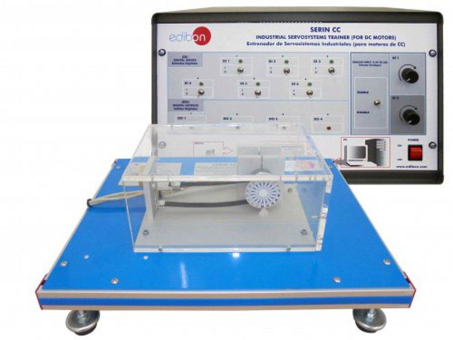 SERIN/CC Computer Controlled Advanced Industrial Servosystem Trainer (for DC Motors)