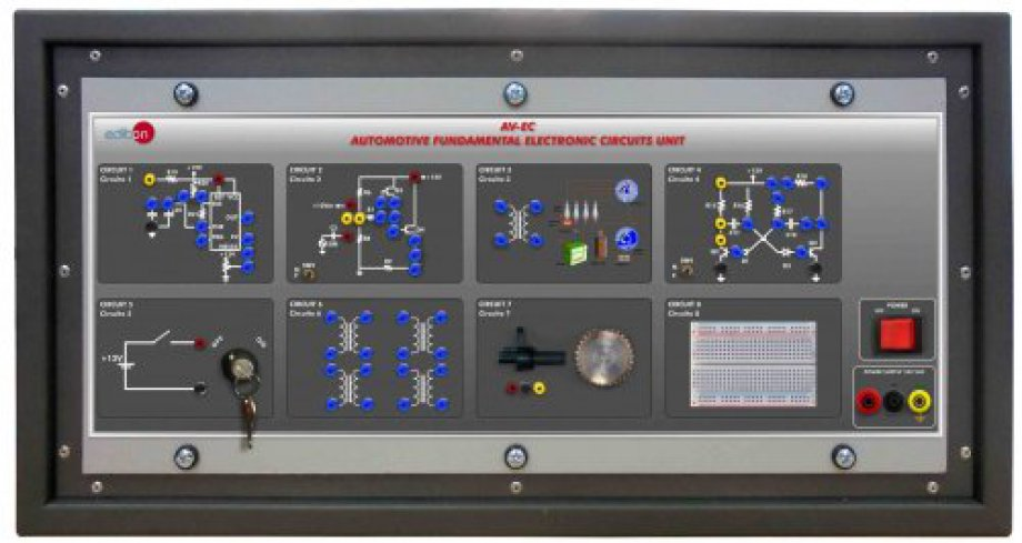 AV-EC Automotive Fundamental Electronic Circuits Unit